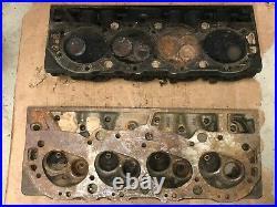 Original GM Pair of 346236 BBC Oval Port 396 402 454 Cylinder Heads
