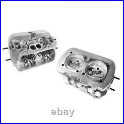 Vw 1600 Dual Port Performance Cylinder Heads, 85.5 Bore