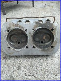 Vw Classic Beetle / Vw T2 Early Bay. Single Port Cylinder Heads. (genuine Parts)
